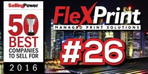 FlexPrint Top 50 Best Companies To Sell For